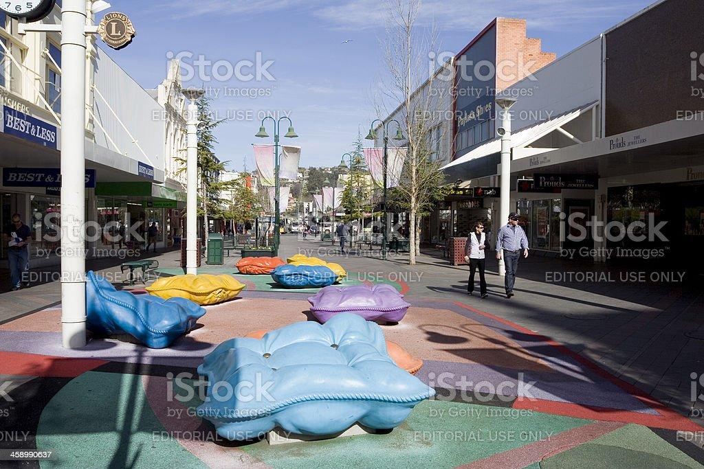 Launceston Mall stock photo