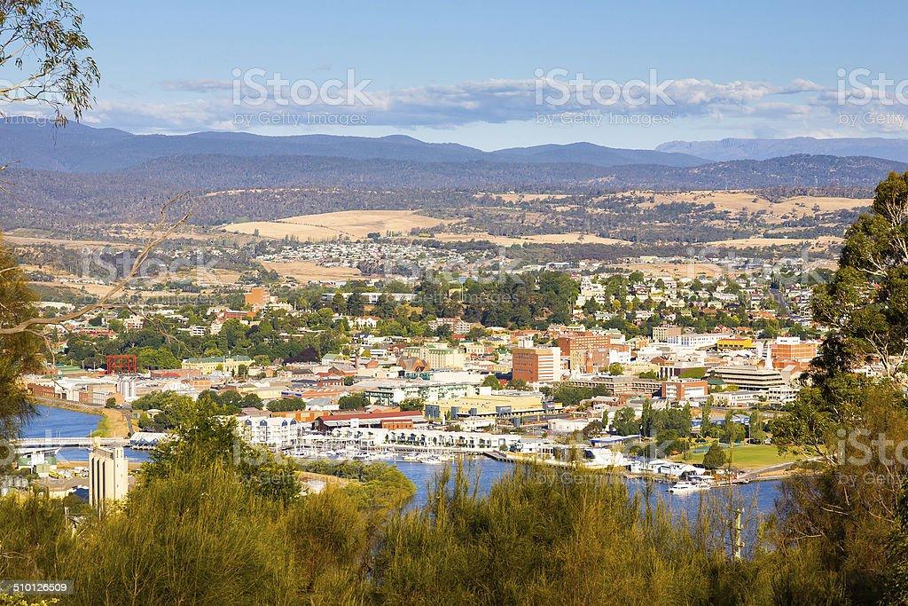 Launceston Tasmania Australia stock photo