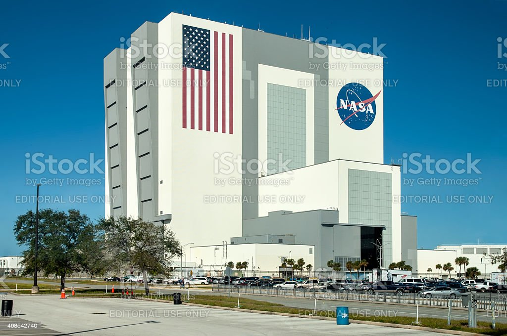NASA Launch Control at Kennedy Space Center, Cape Canaveral stock photo