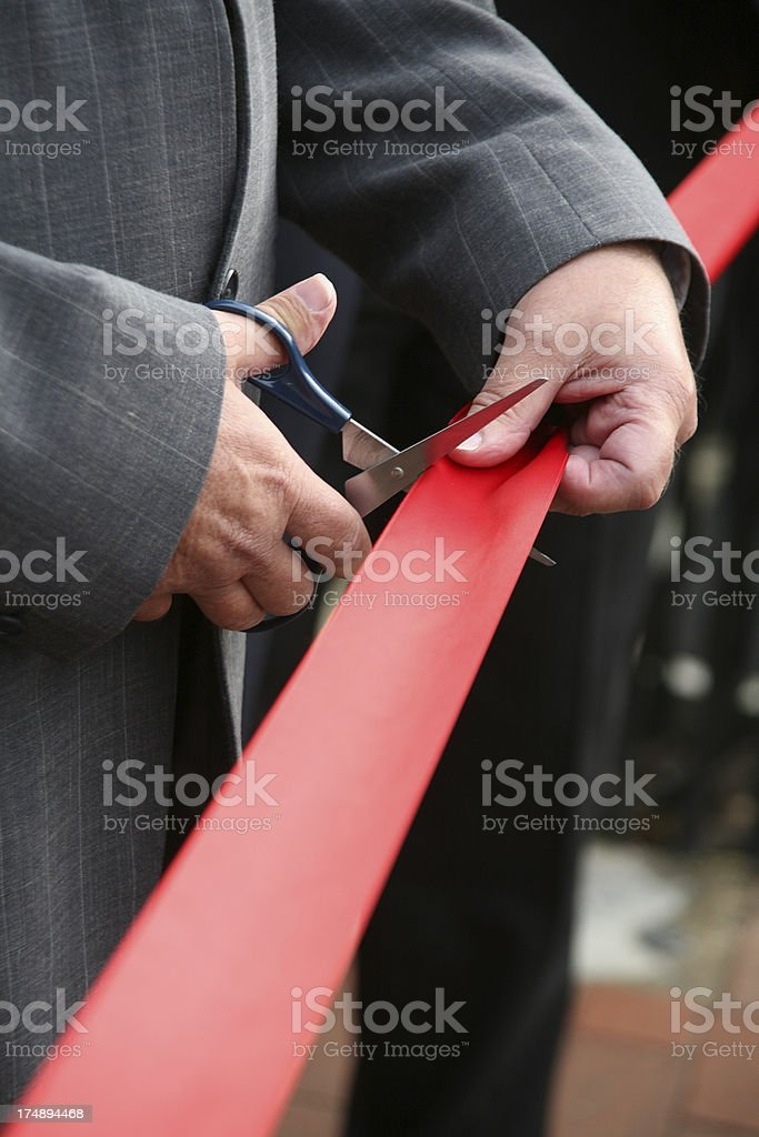 Launch of New Business Upright royalty-free stock photo