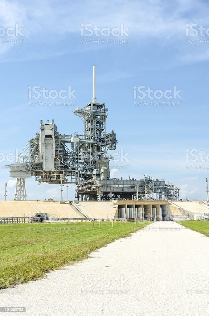 Launch Pad 39A stock photo