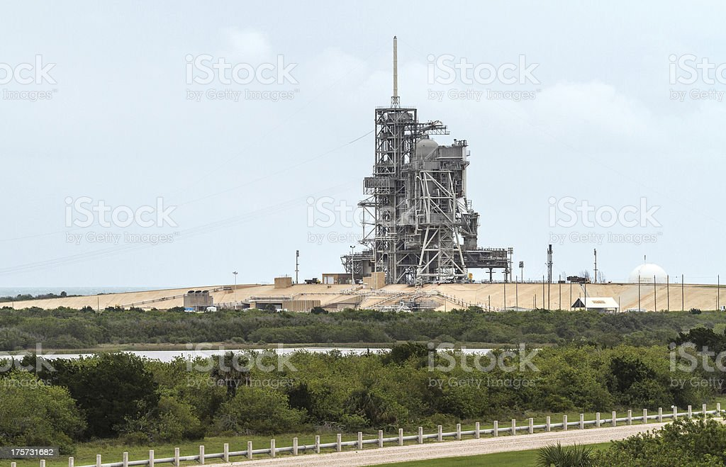 Launch Pad stock photo