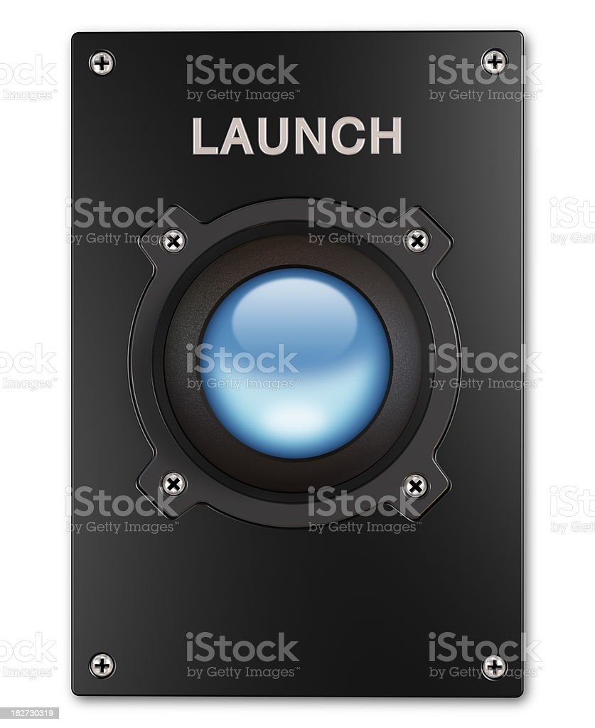 Launch royalty-free stock photo