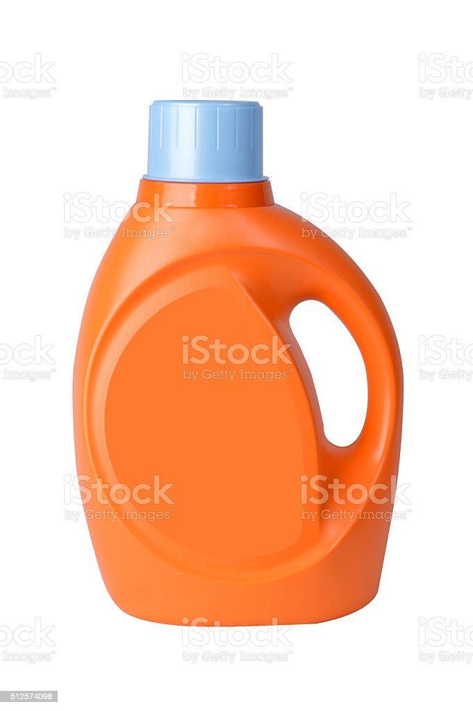 Laundry Detergent Bottle stock photo