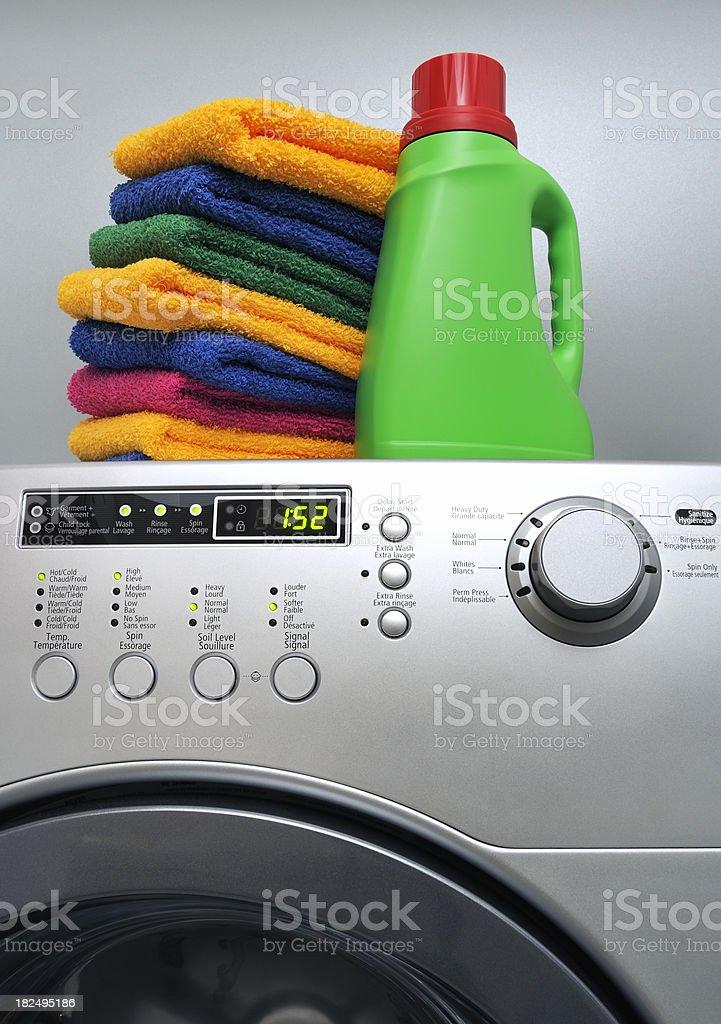 Laundry detregent stock photo