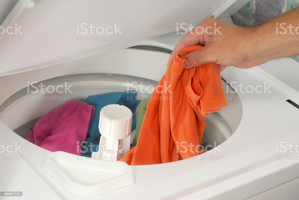 Laundry stock photo