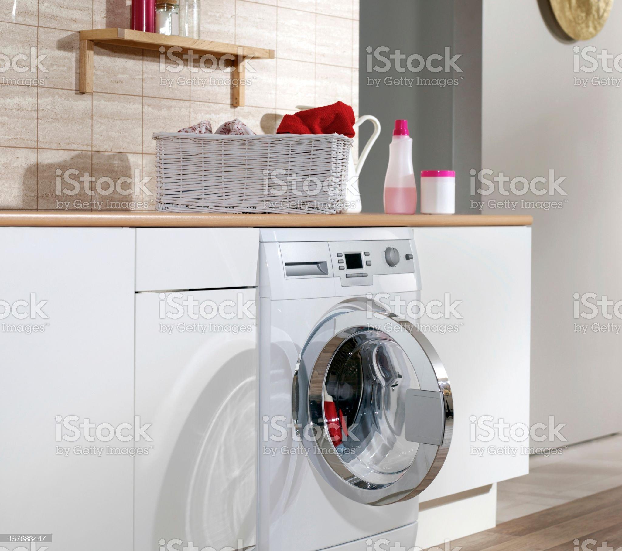 Laundry Room royalty-free stock photo