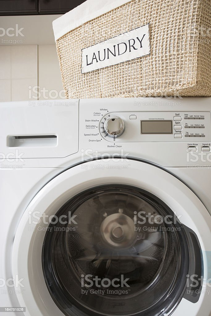 Laundry Room royalty-free stock photo