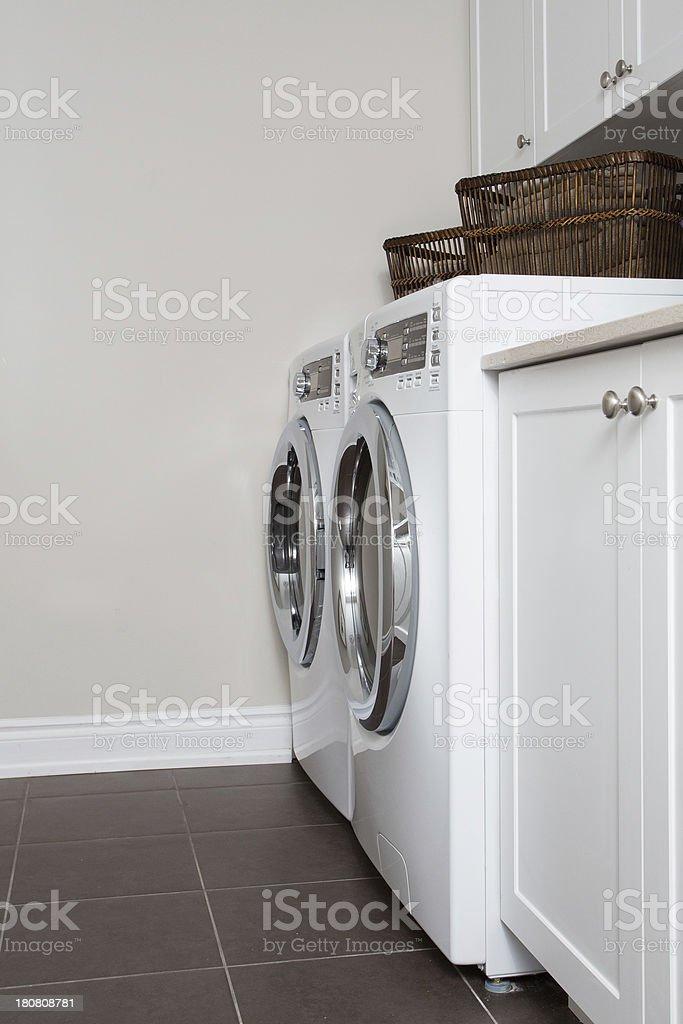 Laundry Room stock photo