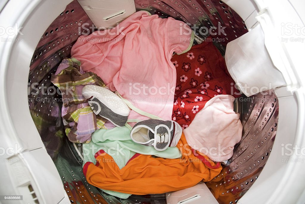 laundry time - housekeeping royalty-free stock photo