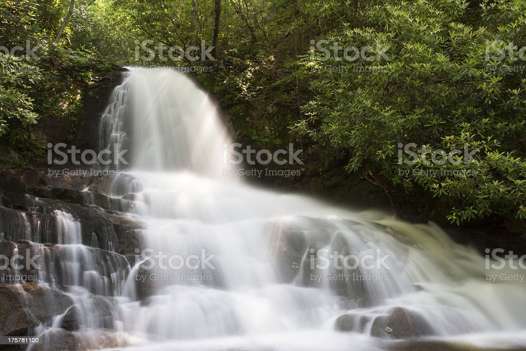 Laurel Falls stock photo