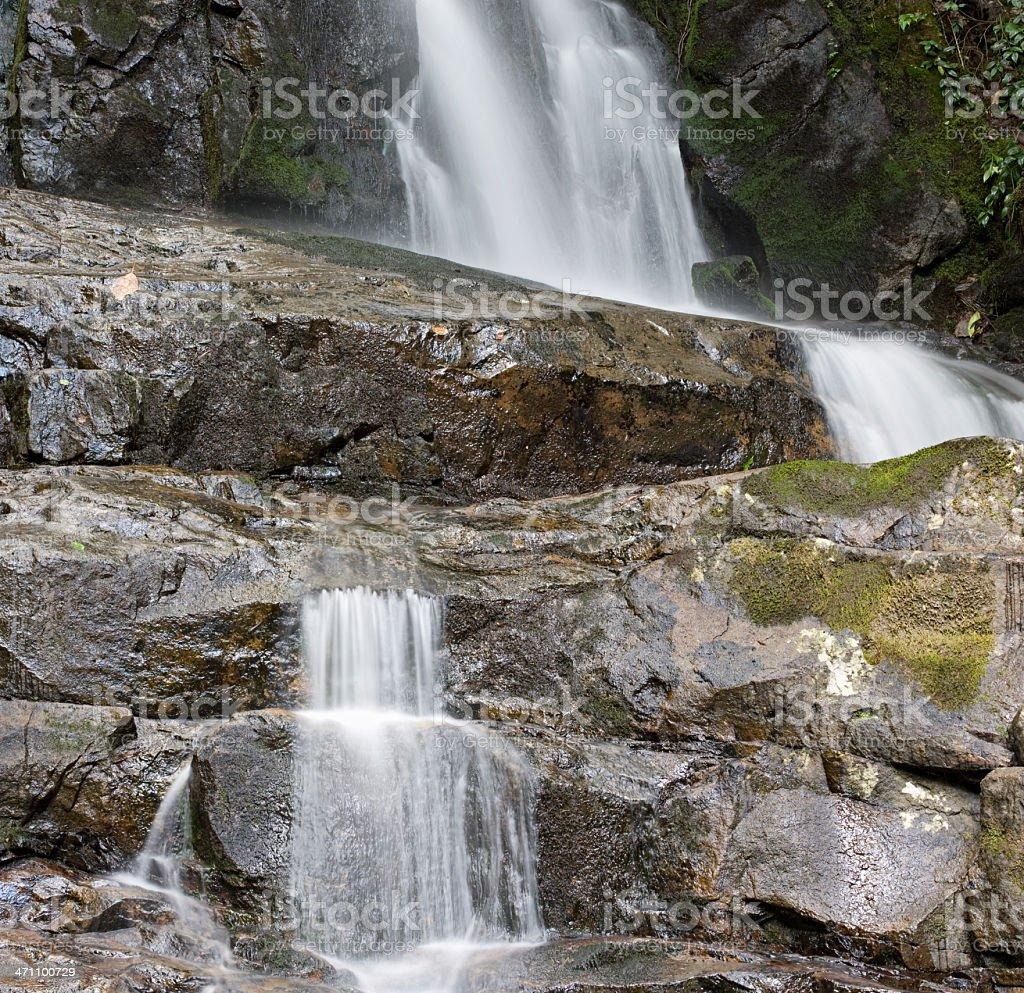 Laurel Falls Series royalty-free stock photo