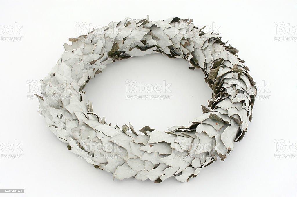 Laurel Wreath. royalty-free stock photo