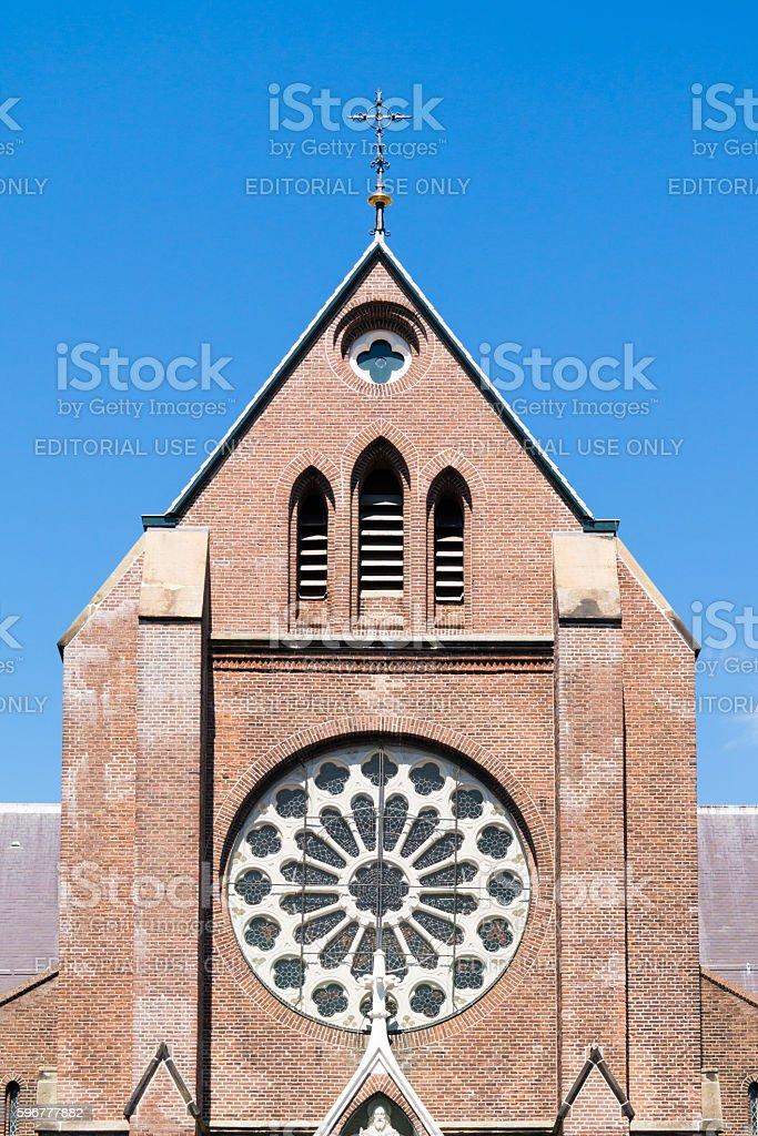 Laurentius Church in Alkmaar, Netherlands stock photo