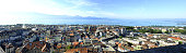 Lausanne from the Cathedral's belfry