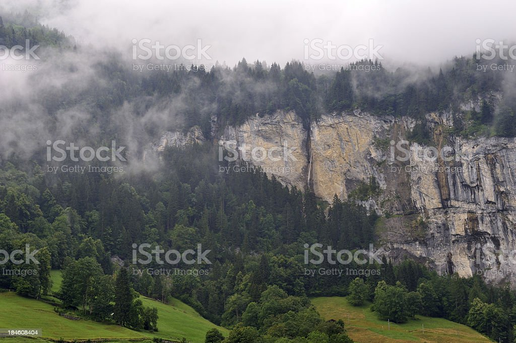 Lauterbrunnen in Summer royalty-free stock photo