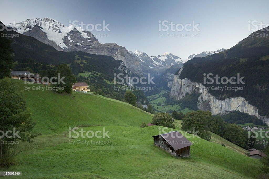 Lauterbrunnen, Switzerland royalty-free stock photo