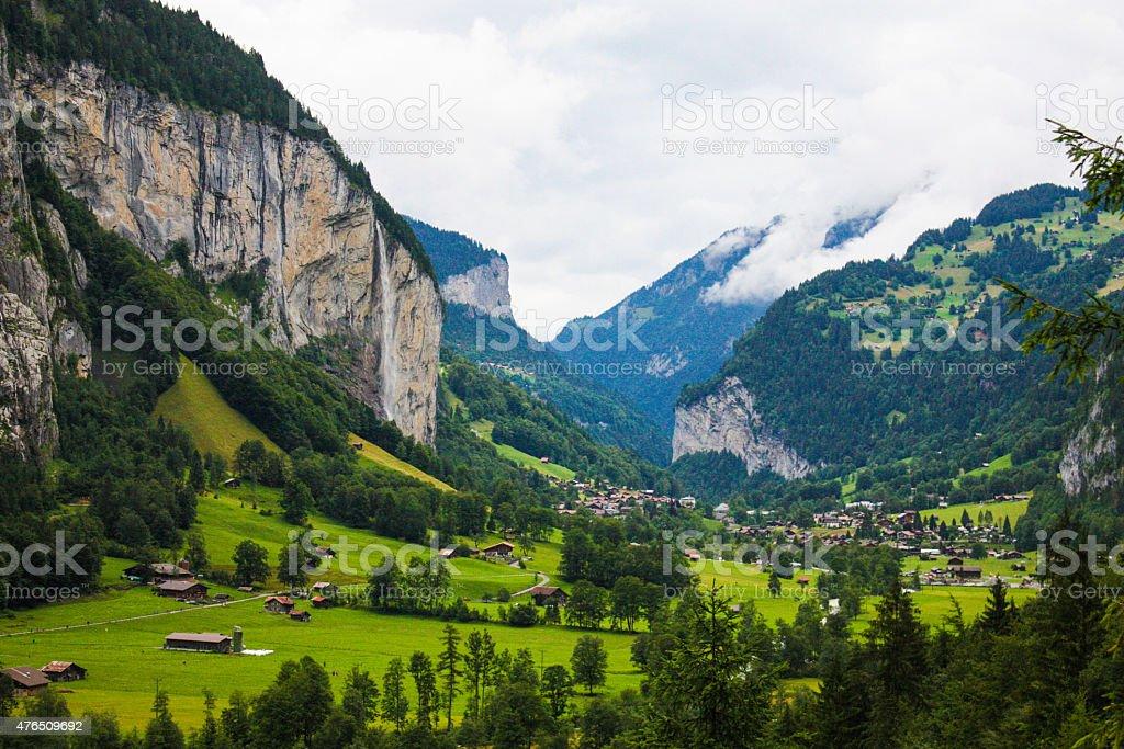 Lauterbrunnen, Switzerland stock photo