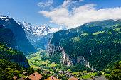 XXXL: Lauterbrunnen Valley in the Bernese Oberland, Switzerland -XXXL