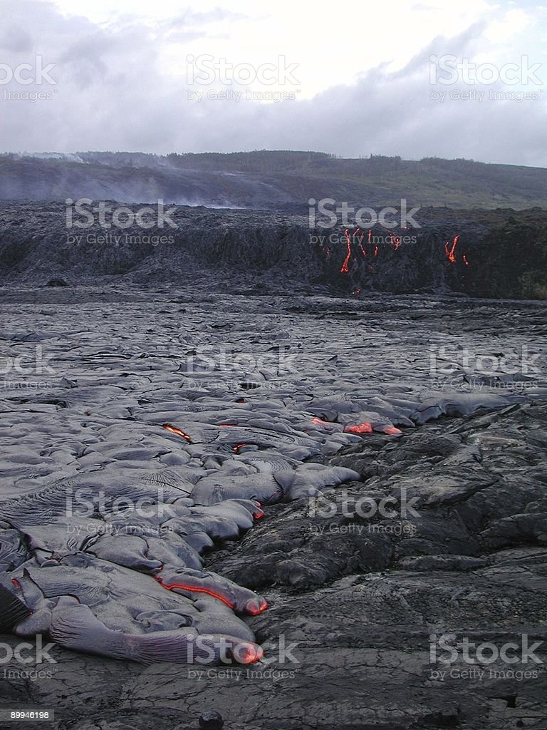Lava Big Island of Hawaii royalty-free stock photo