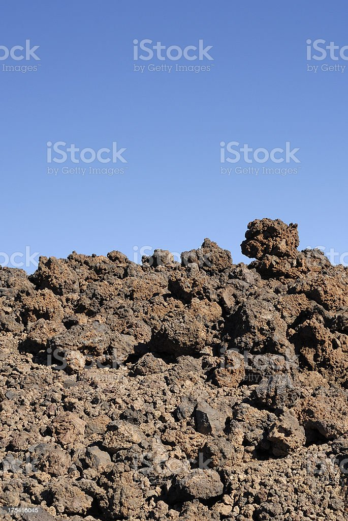 Lava Field royalty-free stock photo