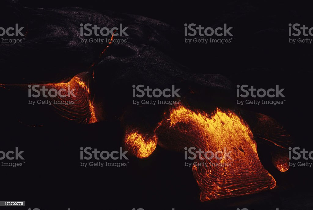 Lava Flow royalty-free stock photo