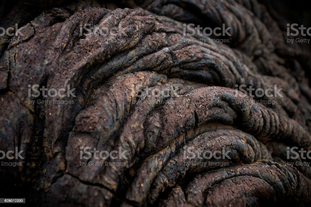 Lava formation stock photo