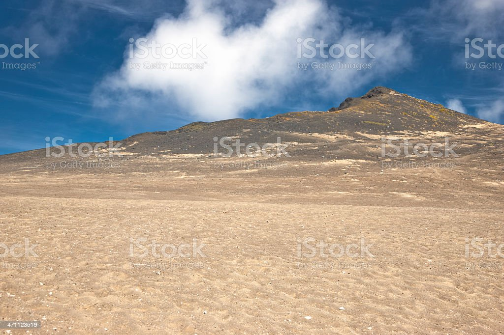 Lava Hills Landscape royalty-free stock photo