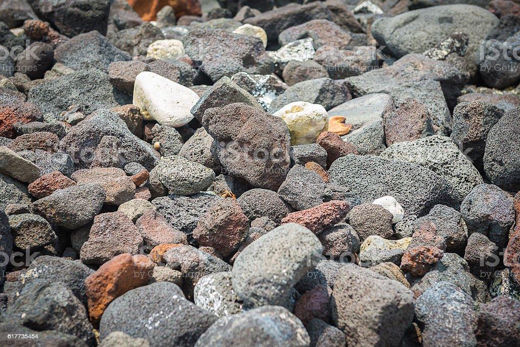 lava rock stock photo