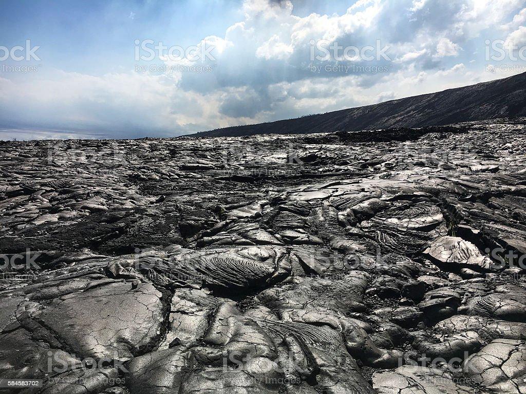 Lava rock world stock photo