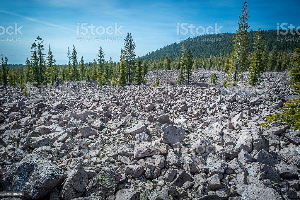 Lava, the Molten Rock stock photo