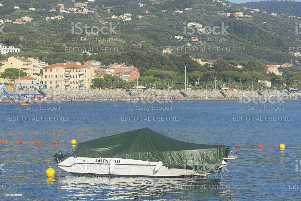 Lavagna on the Riviera di Levante, Italy royalty-free stock photo