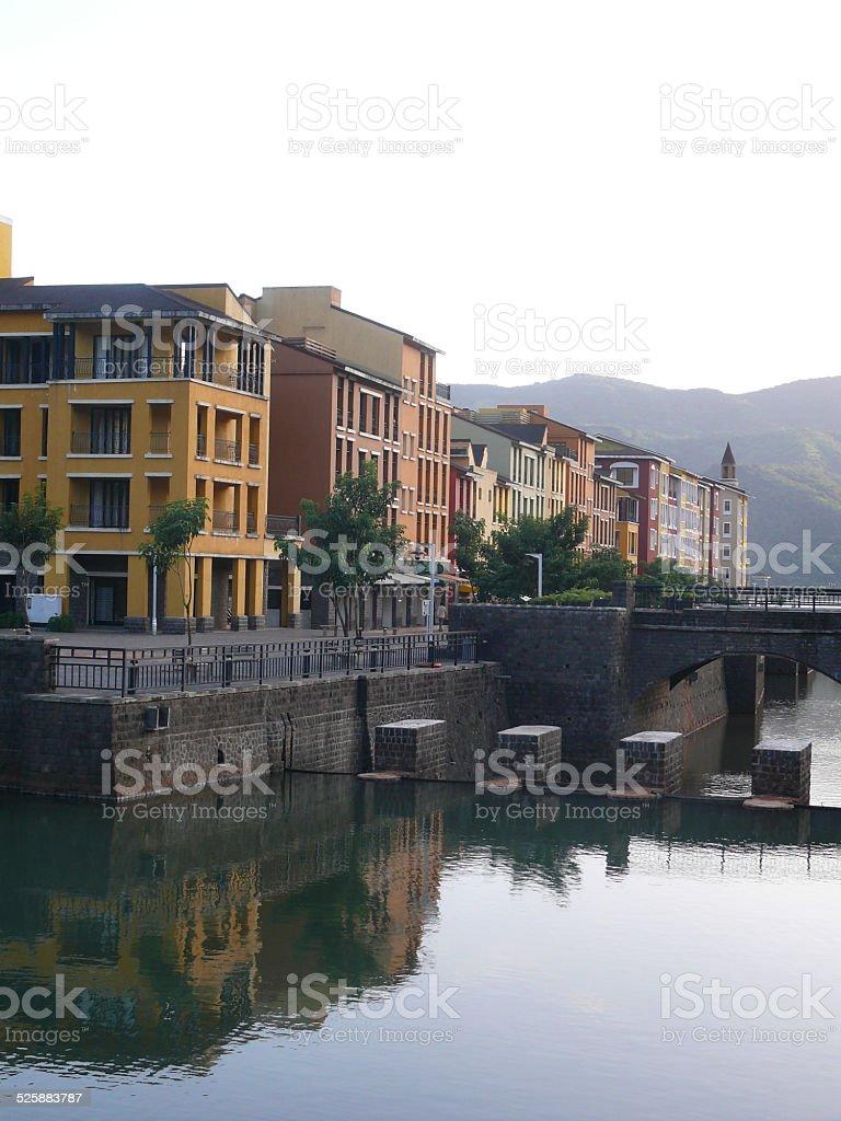 Lavasa planned city stock photo