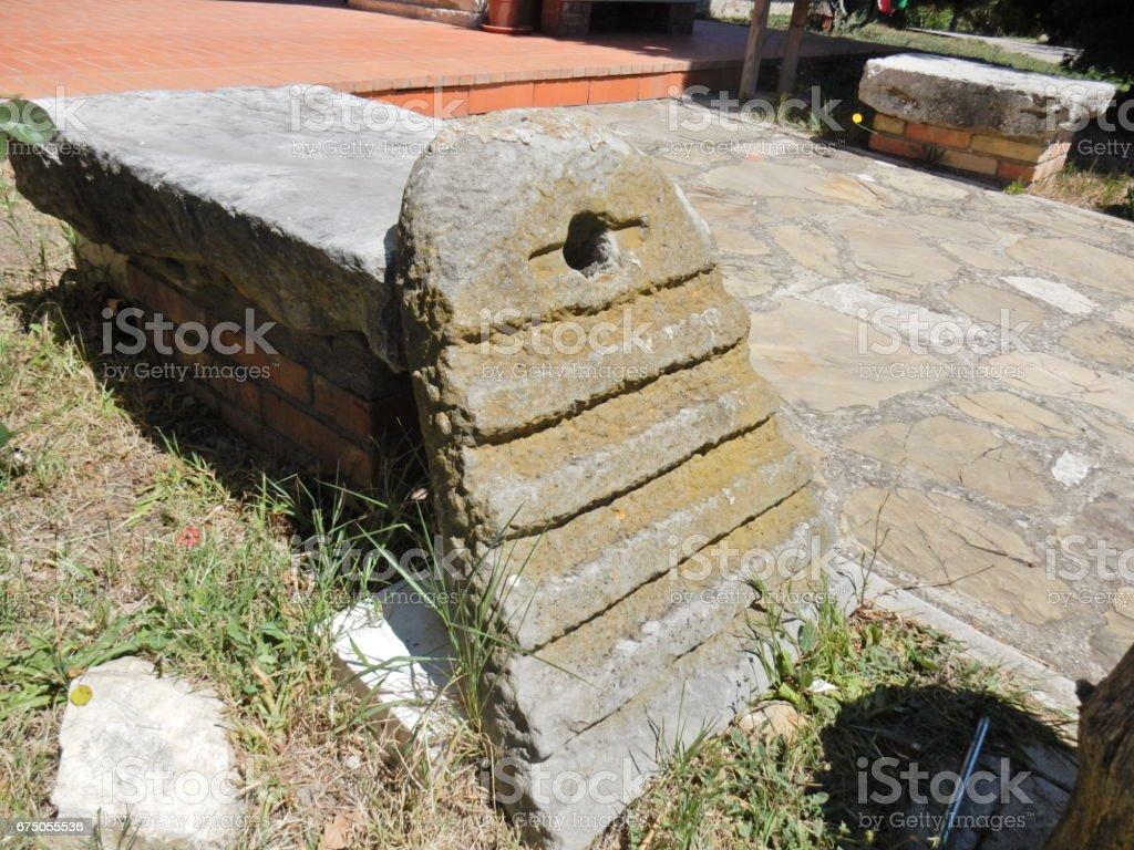 Lavatoio in pietra stock photo