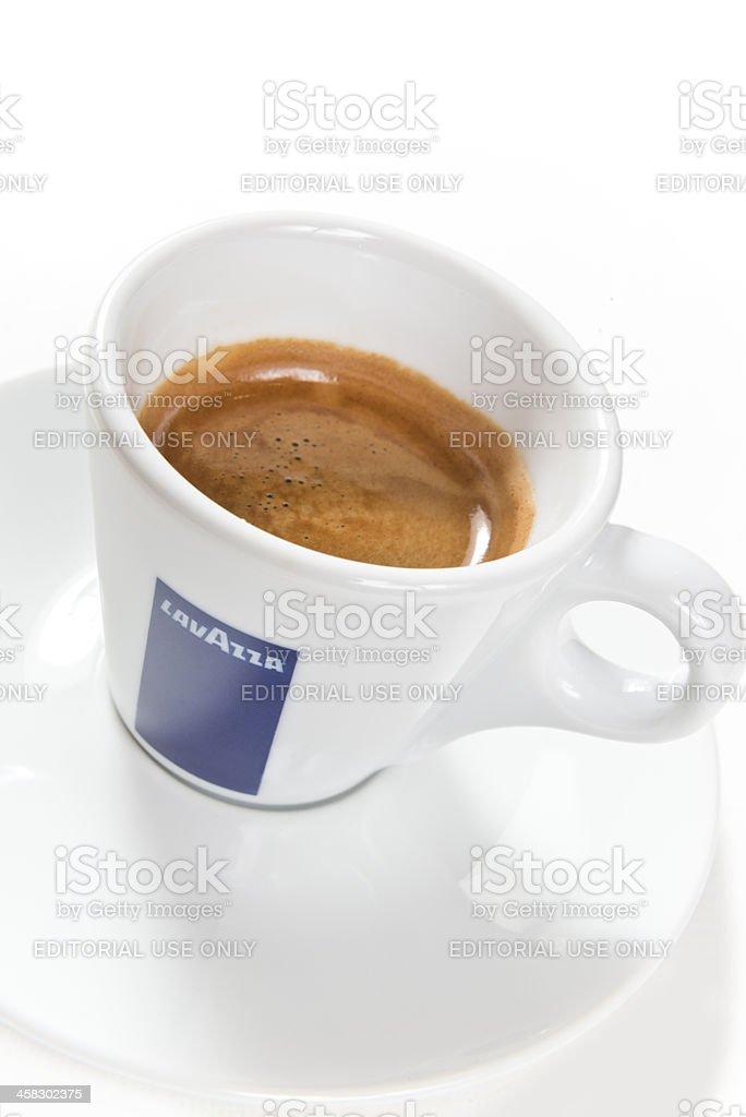 Lavazza espresso royalty-free stock photo
