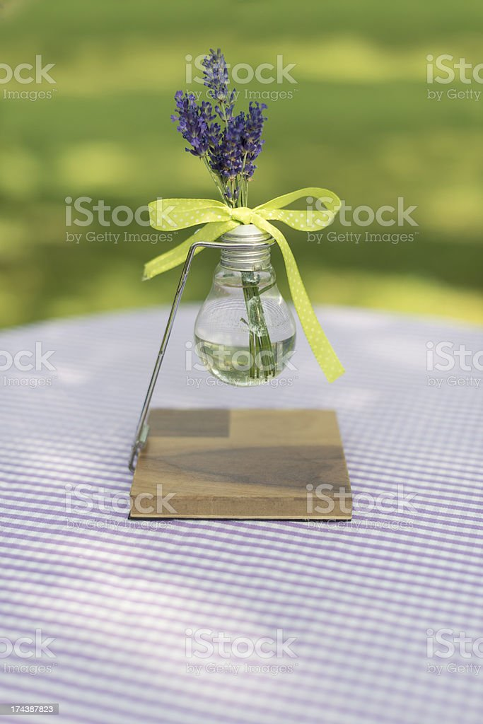lavender arangement stock photo