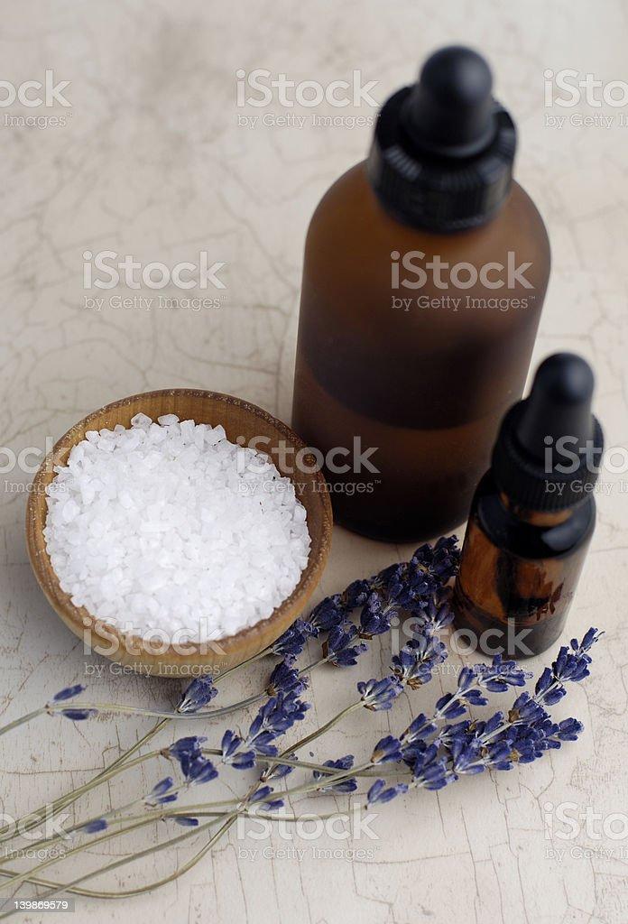 Lavender Bath royalty-free stock photo