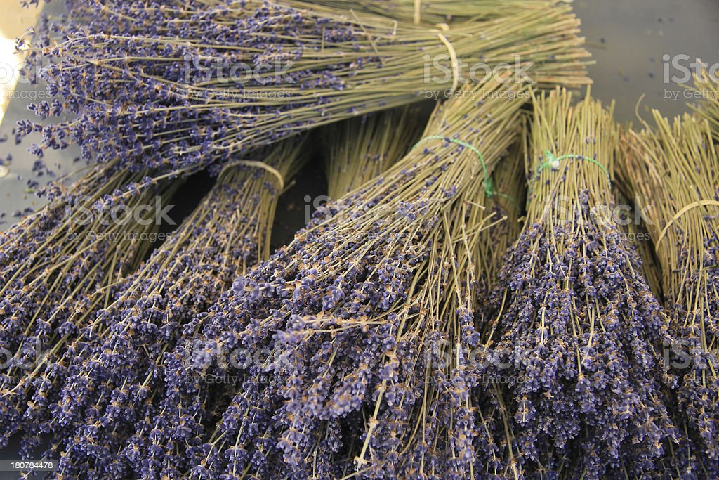 Lavender bouquets royalty-free stock photo