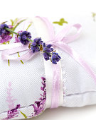 lavender flower on an aromatic pillow