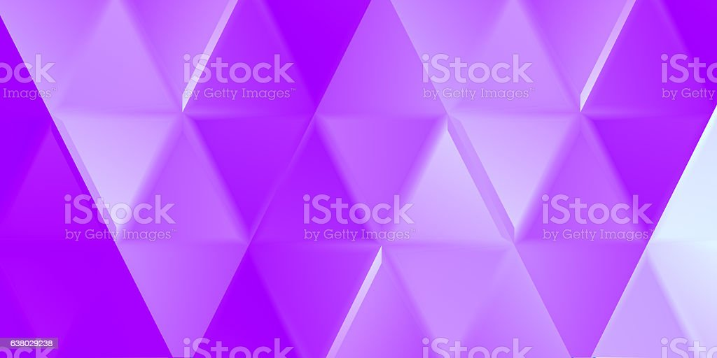 Lavender indented triangles stock photo
