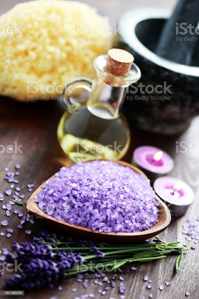lavender spa royalty-free stock photo
