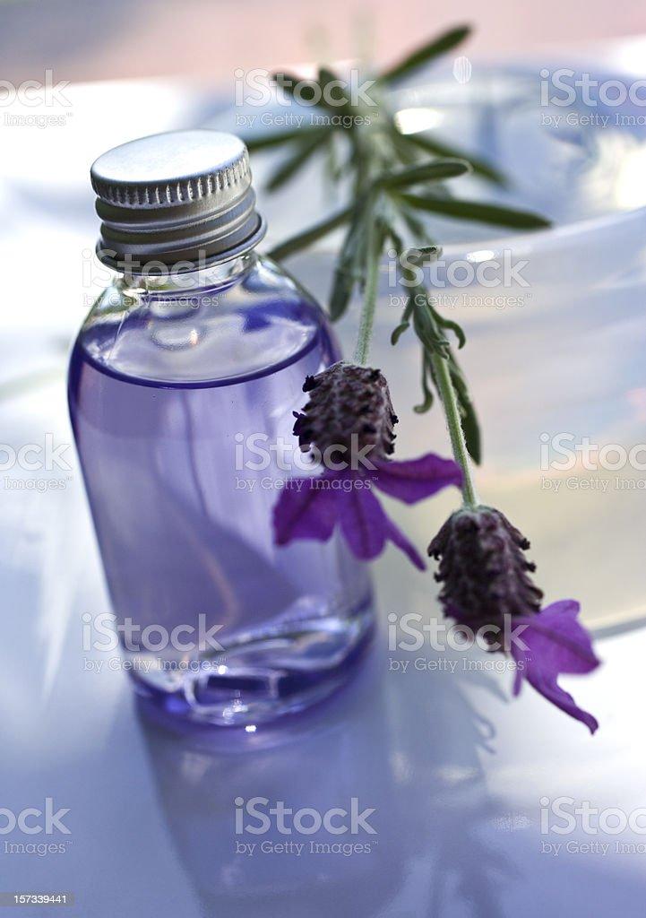 Lavender Spa stock photo