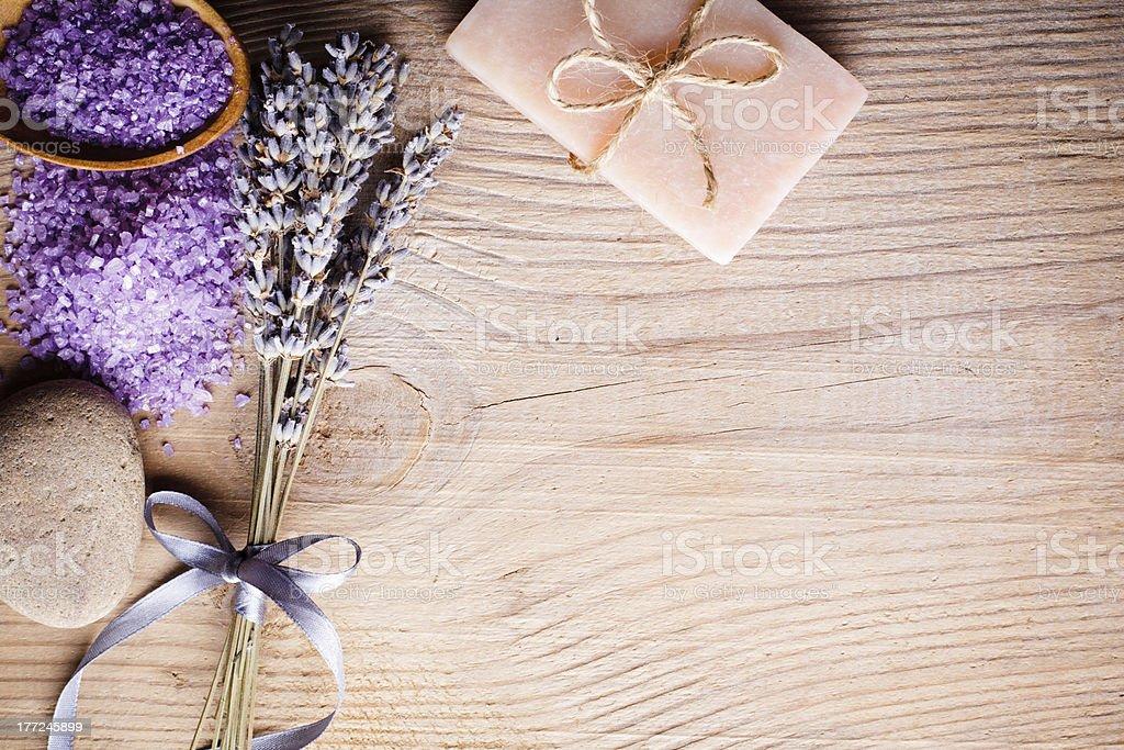 Lavender spa royalty-free stock photo