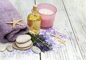 Lavender with essencial oil