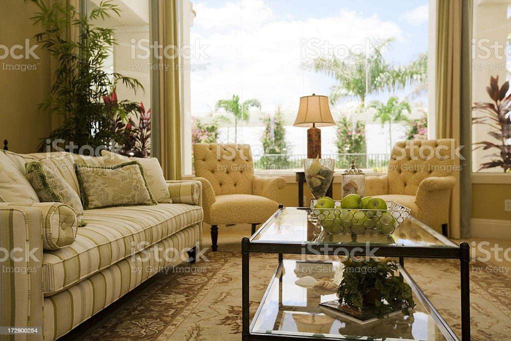 Lavish Living room royalty-free stock photo