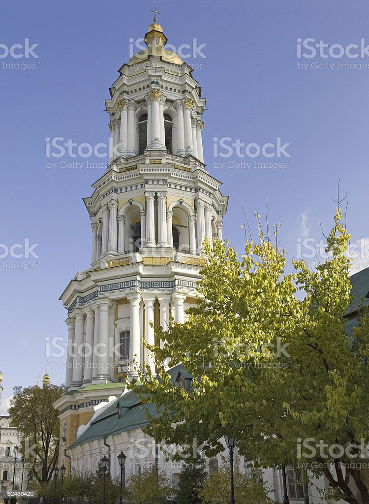 Lavra's Bell Tower royalty-free stock photo