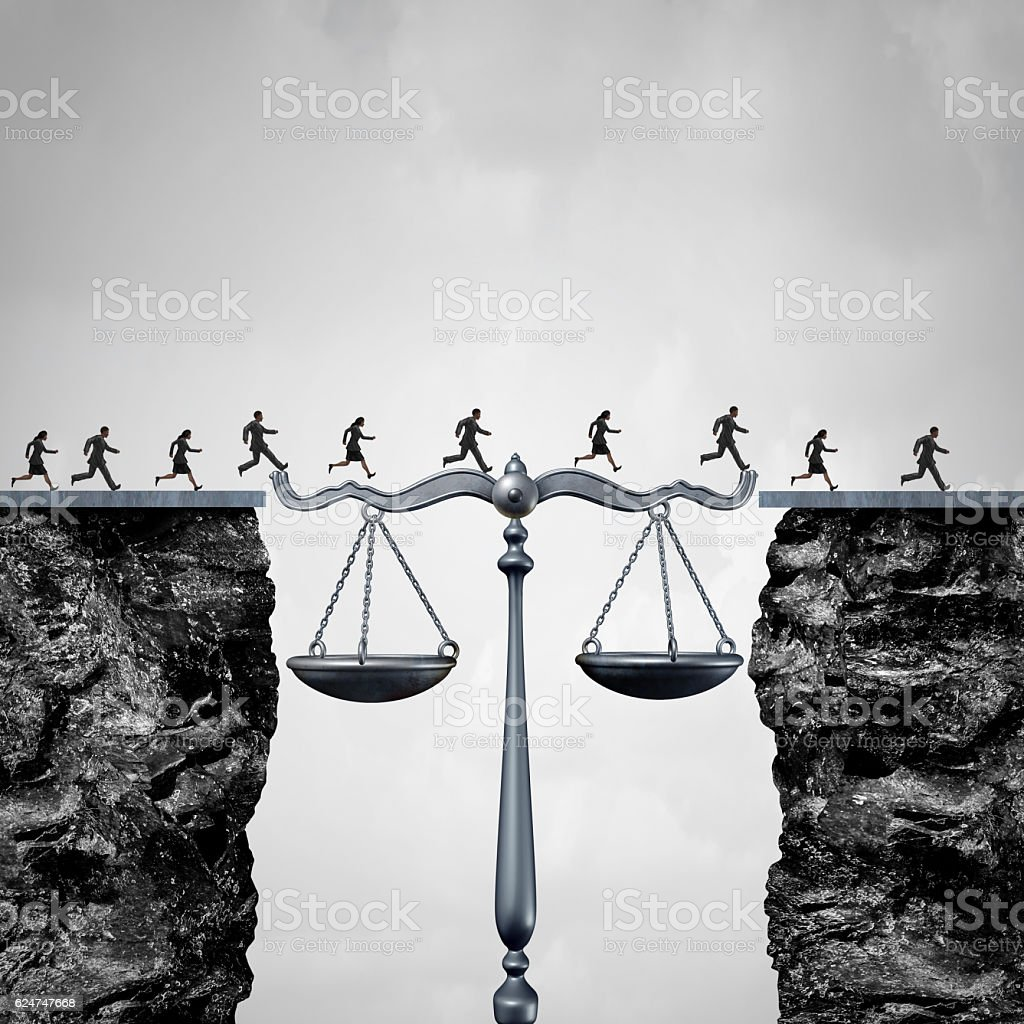 Law And Attorney Solution stock photo