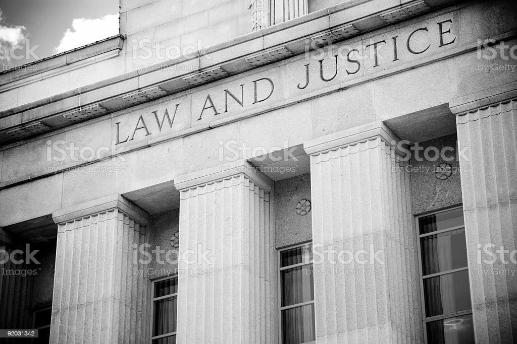 Law and Justice stock photo