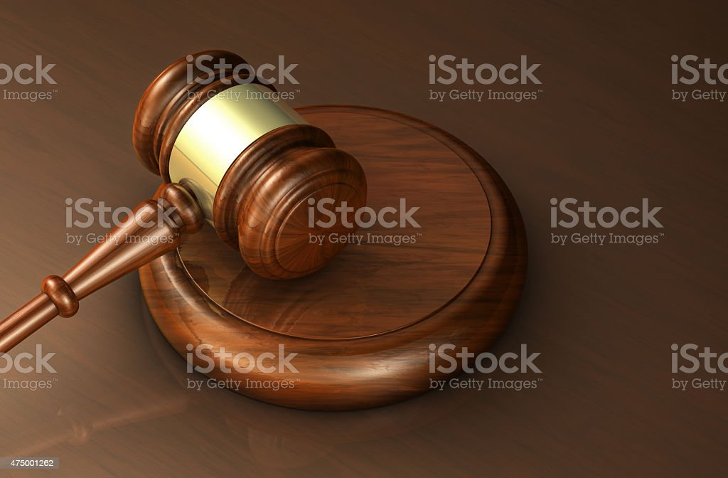 Law And Lawyer Justice Symbol stock photo