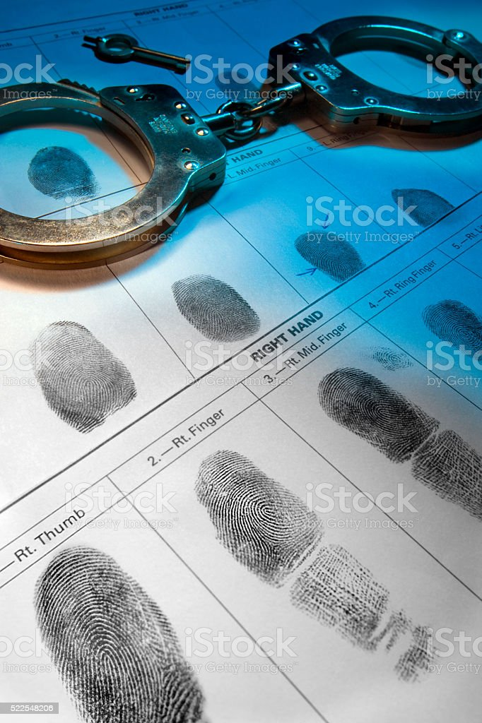 Law and Order stock photo
